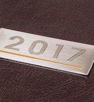 Blaszka Z Grawerowanym Logo Kalendarz 190x205