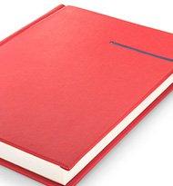 Notesy Klasyczne Victoriaczerwony Niebieski 190x205