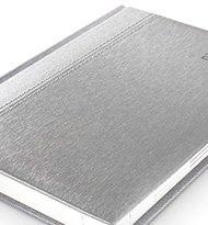 Toledo Srebrno Srebrny Kalendarz 190x205
