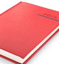 Victoria Czerwony Niebieski Kalendarz 190x205